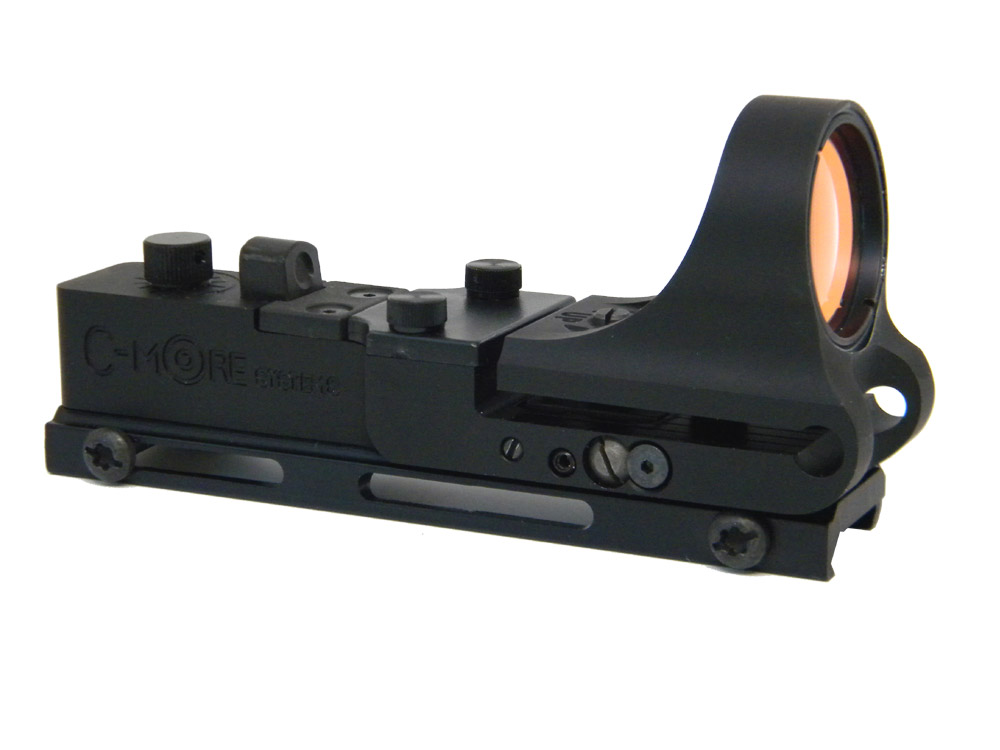 ARW - Railway Red Dot Sight, Aluminum Body, Click Switch