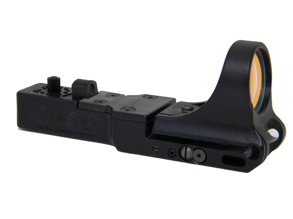 SR - SlideRide Red Dot Sight, Polymer Body, Standard Switch